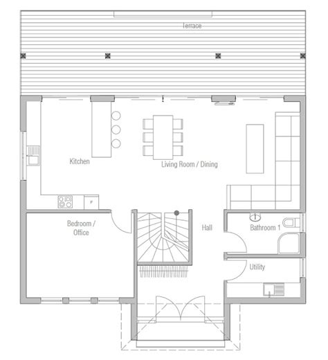 economic house plans affordable home plans economical house plan ch175
