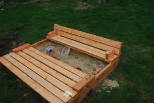 haus sandkasten white sandbox with benches diy projects