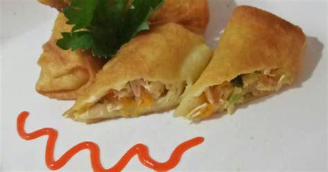 resep sosis solo isi ayam enak  sederhana cookpad