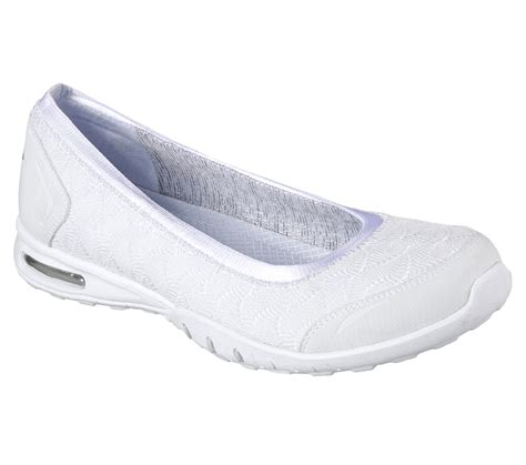 skechers flat shoes buy skechers relaxed fit easy air join me ballet flats