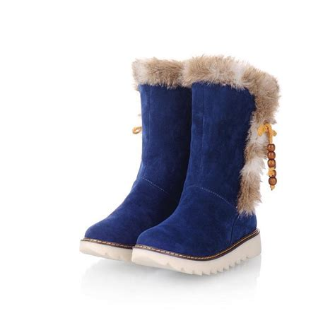 slippers with fur inside s quality vintage waterproof tassel boots fur inside
