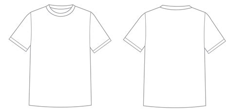 Shirt Template Cliparts Co Concert T Shirt Template