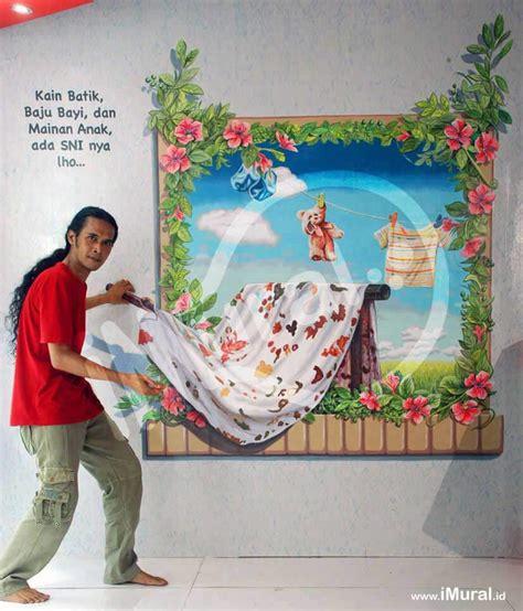 lukisan dinding   sni taman pintar kain batik