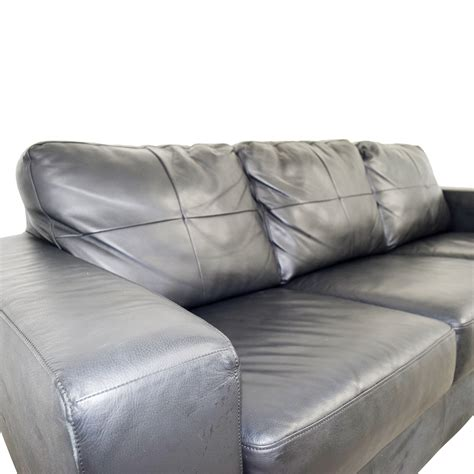 44 ikea ikea skogaby black leather sofa sofas