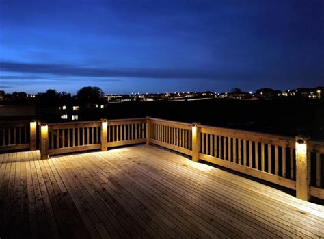 Patio Deck Lighting Ideas Deck Lighting Ideas
