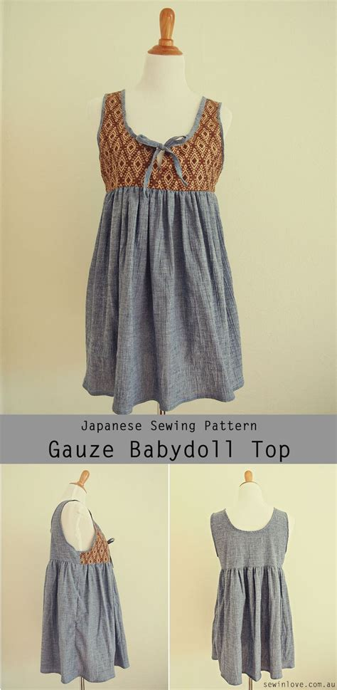 japanese pattern clothes cute maternity and nursing babydoll top japanese sewing