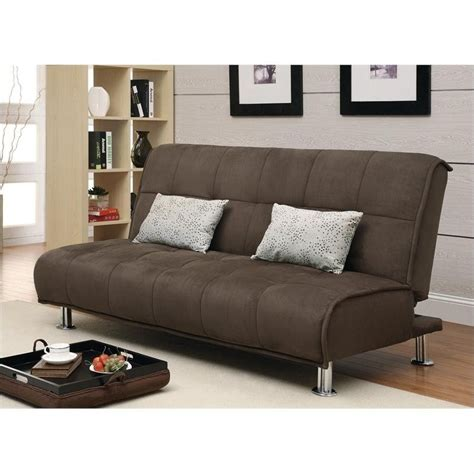 Brown Sleeper Sofa Coaster Transitional Styled Sleeper Sofa And Chaise In Brown 300276 277 Kit