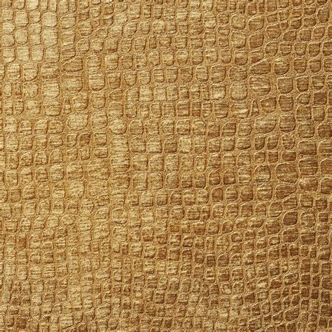 Textured Upholstery Fabric Copper Brown Textured Alligator Shiny Woven Velvet