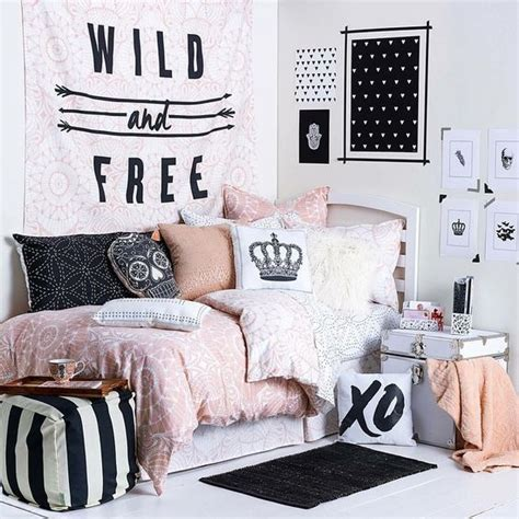 habitaciones juveniles rosa negro y cebra imagui m 225 s de 17 ideas fant 225 sticas sobre habitaciones tumblr en
