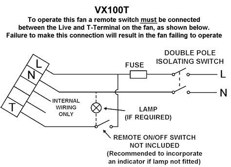 xpelair dx100t wiring diagram 29 wiring diagram images
