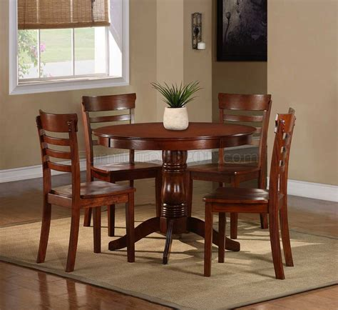 5 pc homelegace beaumont dining 2457 wayland 5pc dining set by homelegance in antique oak