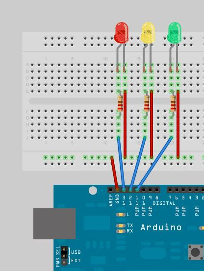 code arduino traffic light arduino programming for beginners the traffic light