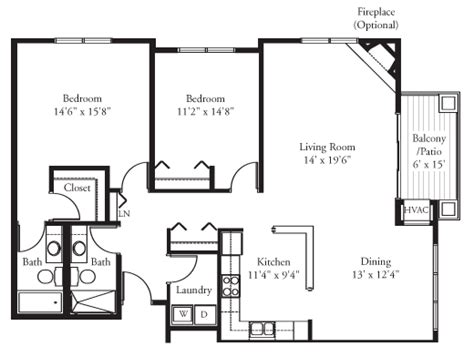 2 bedroom condo floor plan the rio grande 2 bedroom condo elk river spacious
