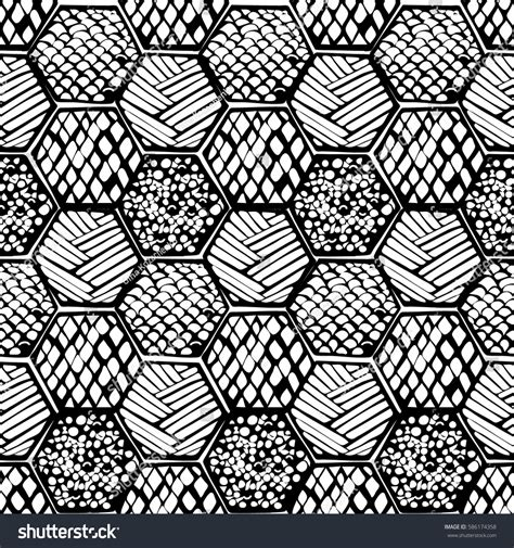 honeycomb pattern corel draw vector abstract pattern honeycomb different texture inside stock