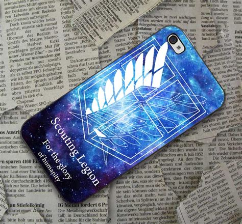Attack On Titan Iphone attack on titan design black iphone ipod samsung