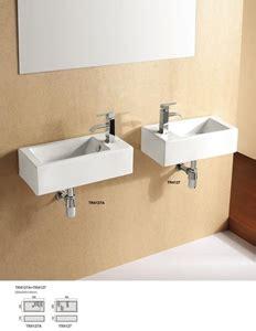 Powder Room Basins Rectangular Wall Hung Powder Room Basin Auction 0021