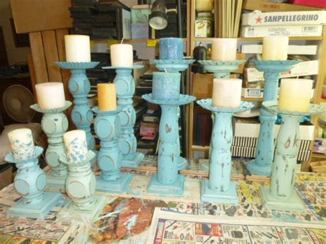 table legs upcycled  candle pedestals pedestal