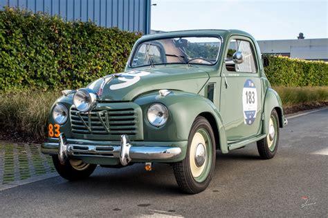 Classic Car Service by 1950 Fiat 500 C Topolino Transformabile Mille Miglia