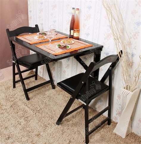 wall mounted drop leaf table solid wood folding dining
