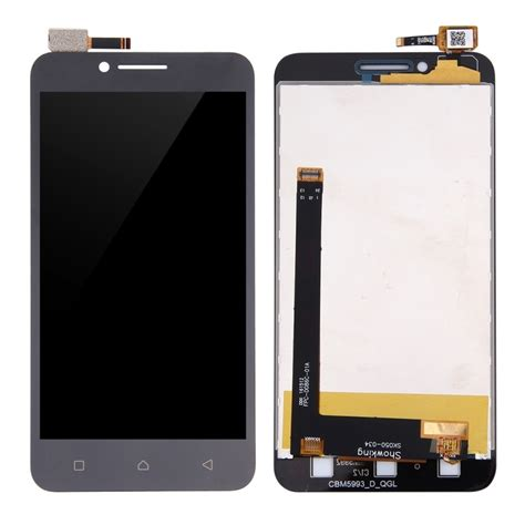 replacement lenovo vibe c a2020 lcd screen touch screen digitizer assembly black alex nld