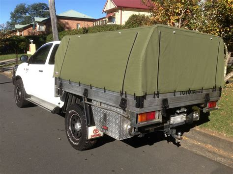 hilux awning canvas canopy kits for hilux wallaby track canvas