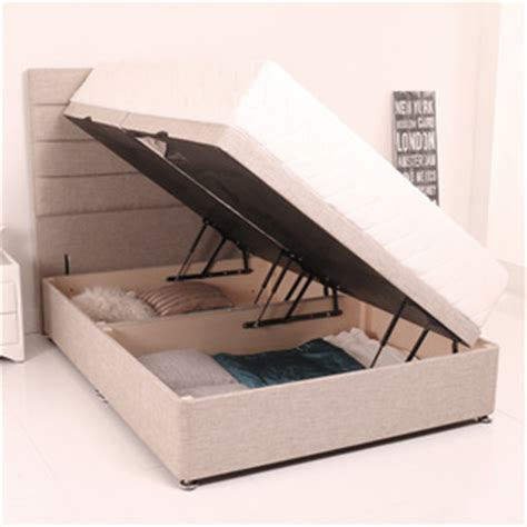 side opening single ottoman bed giltedge beds side opening 5ft kingsize ottoman base