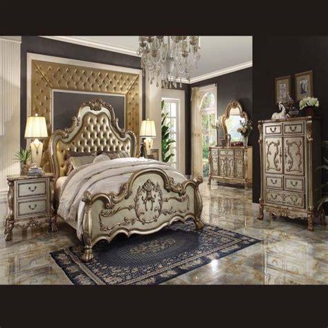 dresden gold antique queen 5 pc bedroom set traditional style bedroom set dresden gold patina antique recreations