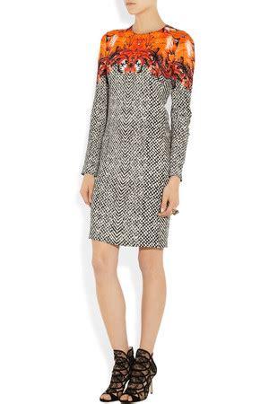 Lapel Print Dress Intl shop liu roberto cavalli dress elementary paleyfest