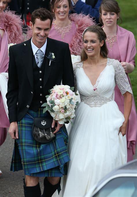 andy murray wedding andy murray wedding wimbledon chion marries kim sears