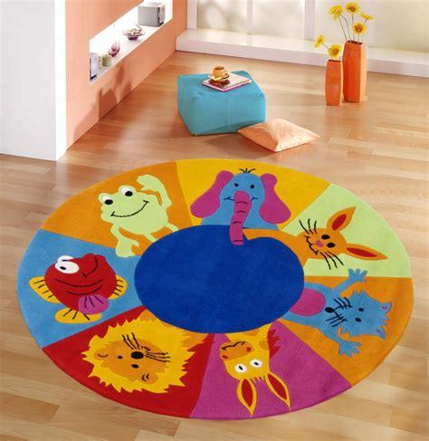 kinderteppich mit tiermotiven runde kinderteppiche ebay - Runder Kinderteppich