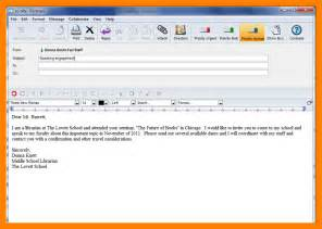 6 how to write an formal email emt resume