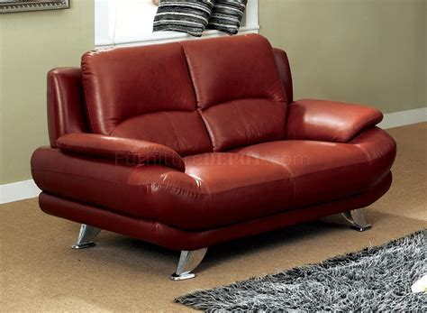 dark red leather sofa s282 dr sofa in dark red leather by pantek w options