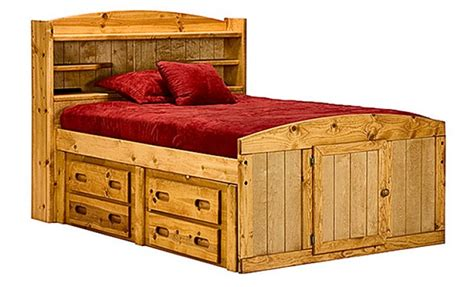 captain bed full full size captains bed 187 sadler s home furnishings