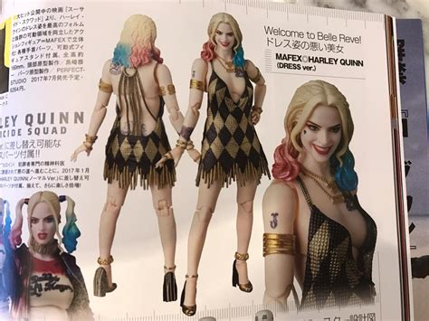 squad mafex harley quinn dress version the