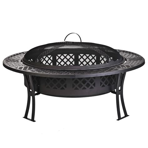 30 inch pit table cobraco 30 inch mesh outdoor pit with 5 inch