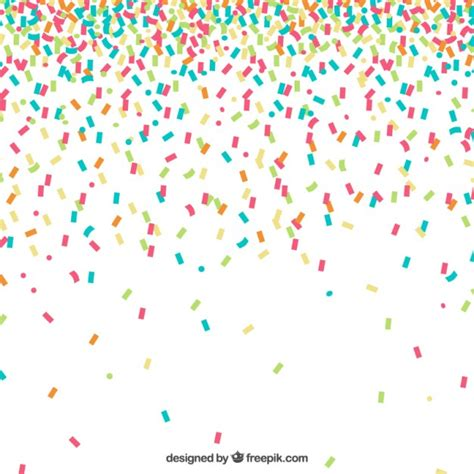 see the a 30 day celebration of your magnificent books colorful confetti background vector free