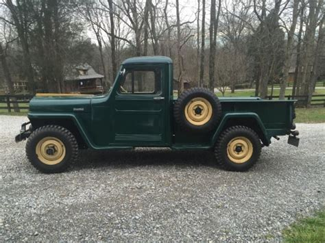 willys jeep truck 1947 willys 4x4 jeep truck willys jeep 1947 for sale