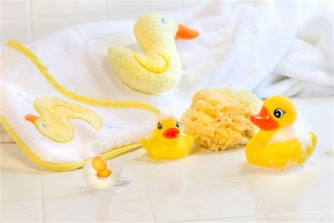 Yellow Duck Baby Shower Decorations by Rubber Ducky Baby Shower