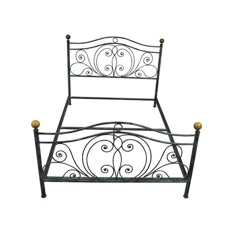 charles p rogers iron bed 82 off charles p rogers charles p rogers queen size iron bed beds