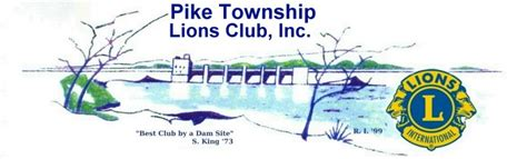 Pikelions Org Indianapolis Pike Township Lions Club Inc Lions Club Letterhead Template