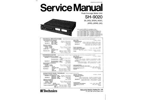 service manual how to download repair manuals 2001 chevrolet suburban 2500 auto manual chevy technics sh9020 service manual immediate download