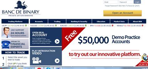 banc de binary minimum deposit banc de binary review claim a 100 deposit bonus