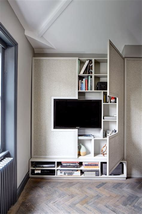 Kitchen Television Under Cabinet by Wall Tv Cabinet Storage Small Space Flat Design Ideas