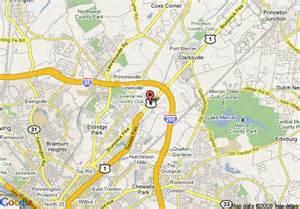 map of howard johnson princeton lawrenceville trenton