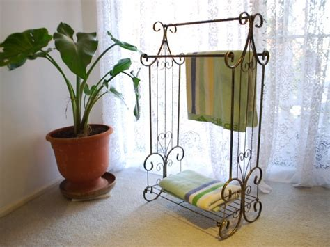 towel stackers bathroom iron french style bathroom towel stacker rack stand flat