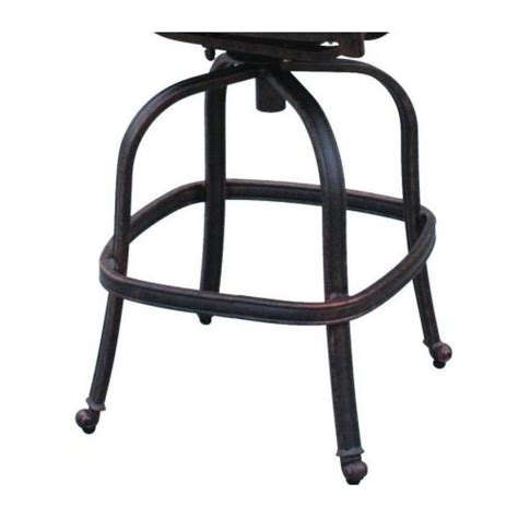 outdoor bar stool sets patio bar stool set of 4 elizabeth cast aluminum outdoor