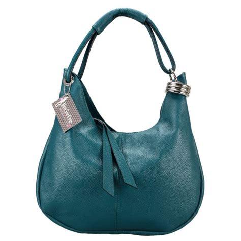 Les Les à Pétrole by Blue Handbags Sac A Cuir Bleu Petrole