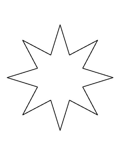 6 star coloring pages free premium templates 4 inch star template invitation template