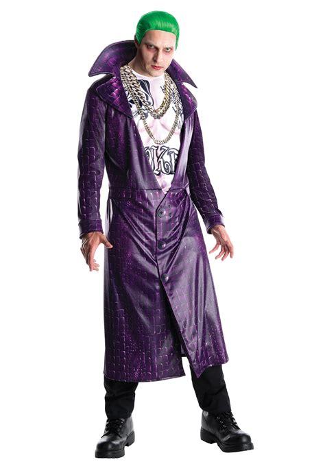 joker costume deluxe squad joker costume