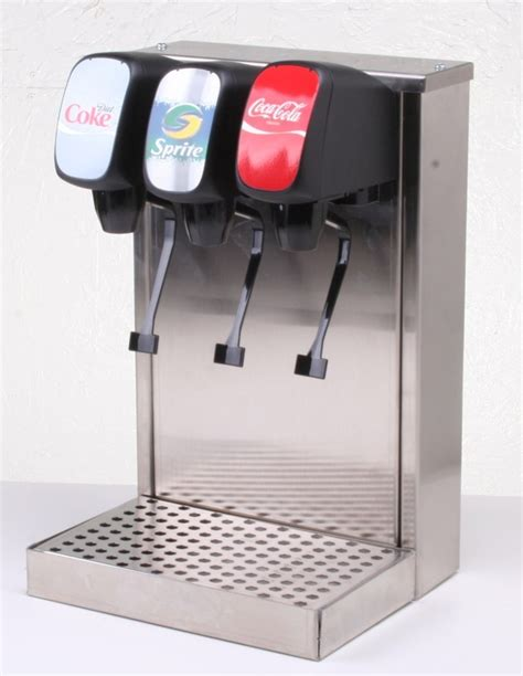 home soda machine 3 flavors w counter